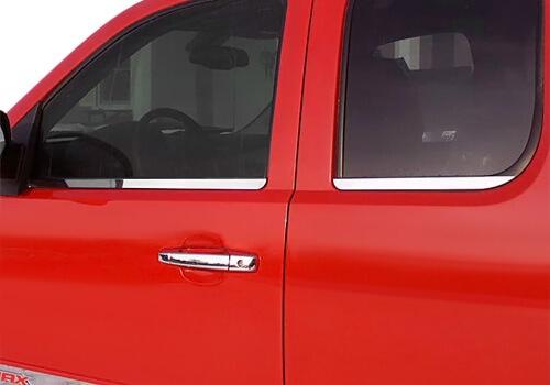 chevrolet bully door window trim