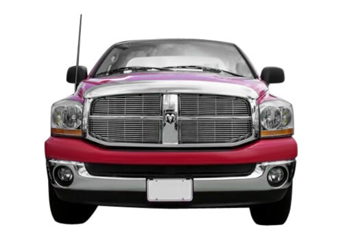 dodge bully chrome grilles
