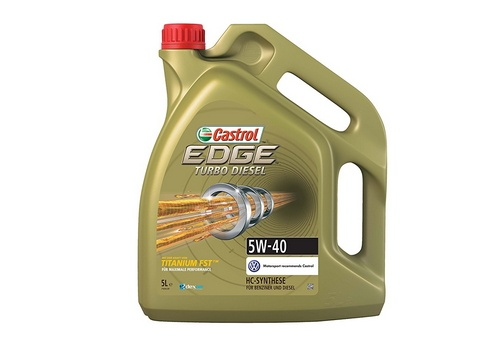 Castrol EDGE Turbo Diesel Engine Oil 5W-40 5L