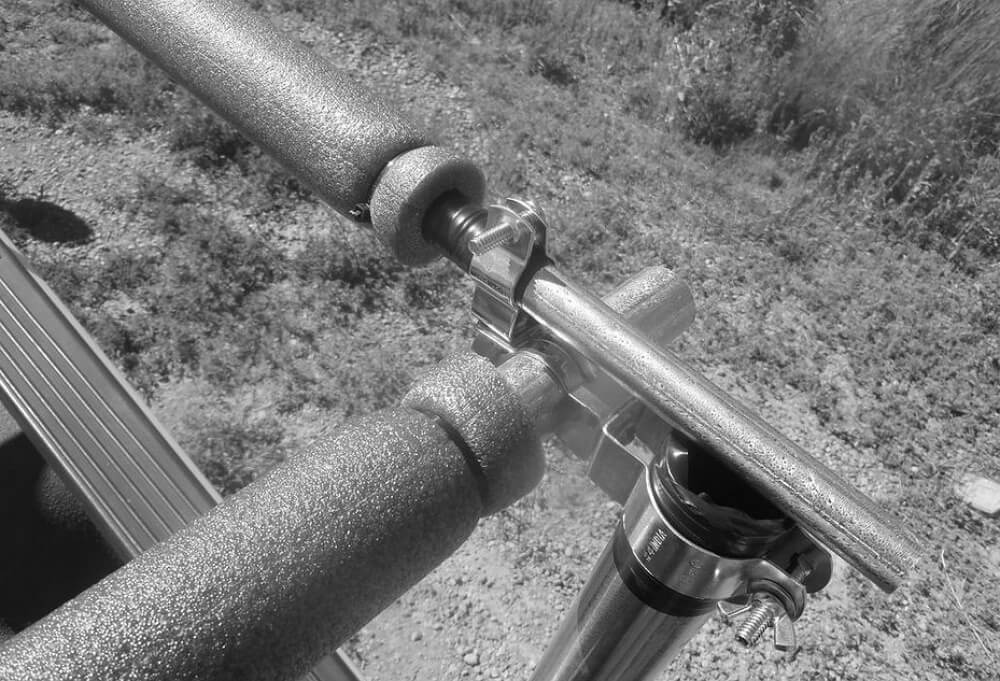 Pipes with foam
