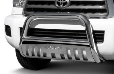Bull bar on Toyota