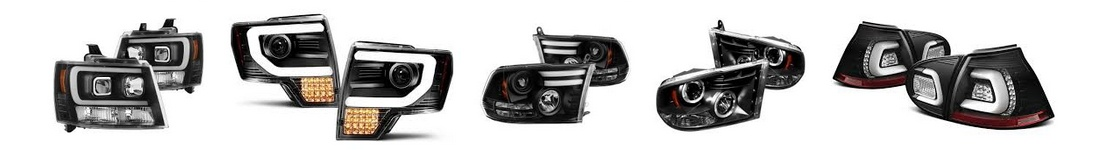 aftermarket truck headlights