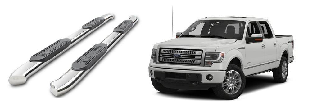 Ford F-150 running boards installation