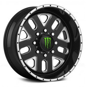 Monster Energy 539BM Gloss Black with CNC Milled Accents