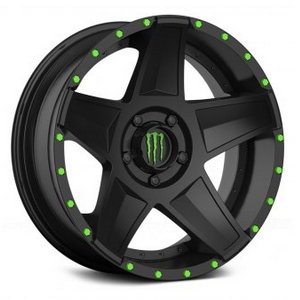 Monster Energy 648B Satin Black