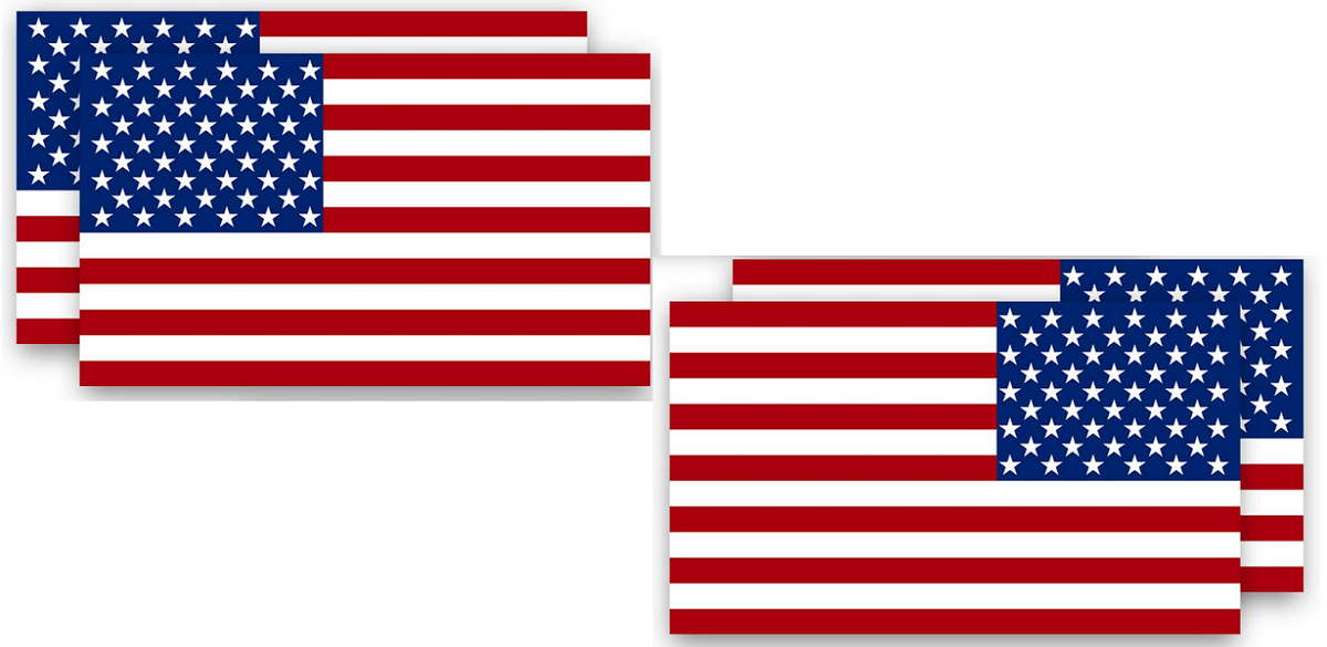 American Flag Decals for Trucks