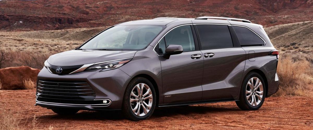 2021 Toyota Sienna most powerful minivan for 2021